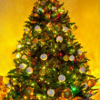 Christmas tree with gifts — Stock Photo #17363131