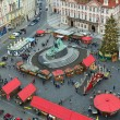 Stock Photo: Christmas Market in Prague