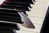 Piano - soft music — Stock Photo