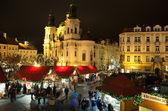 Christmas in Oldtown square — Stock Photo