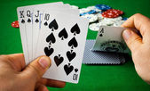 Cartas de poker — Foto de Stock