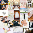 Foto de Stock  : Wedding collage
