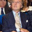 Montezemolo during the conferment of the degree to Honoris Causa to Sergio Marchionne — Stock Photo