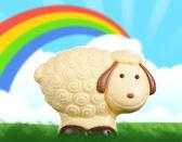 Sheep chocolate — Stock Photo