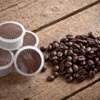 Coffee pods - Stock Photo