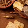 Whole grain carbohydrates — Stock Photo