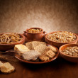 Whole grain carbohydrates — Stockfoto #21776187