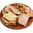 Whole grain carbohydrates — Stock Photo #21776279