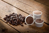 Coffee pods — Stock Photo