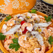 Fish tajine — Stock Photo