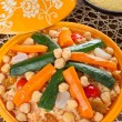Vegetable Tajine - Stock Photo