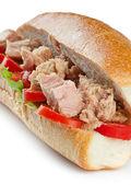 Tuna sandwich — Stock Photo