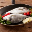 Two sea bream - Stock Photo