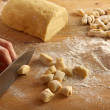 Stock Photo: Homemade gnocchi