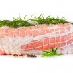 Raw chine of pork — Stock Photo #22236255