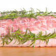 Raw chine of pork — Stock Photo