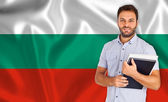 Bulgarian language — Stock Photo