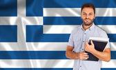 Griekse taal — Stockfoto