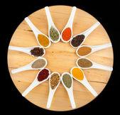 Twelve spices — Stock Photo