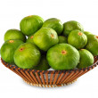 Basket of figs - Stock Photo