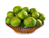 Basket of figs — Stock Photo