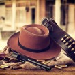 Stock Photo: Western accessories