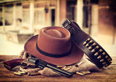 Western accessories — Stock Photo