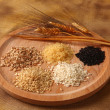 Five types of rice — Stock Photo #24130741