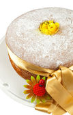 Freshly baked chiffon cake — Stock Photo