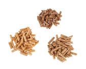 Different kind of pellets — Stock Photo