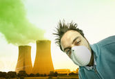 Toxic and polluted air — Stock Photo