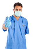 Male nurse portrait — Stock Photo