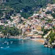 Stock Photo: positano amalfi coast italy