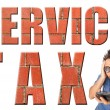 Stock Photo: Service Tax
