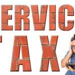 Service Tax — Stock Photo