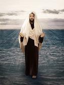 Jesus Walks on Water — Stock Photo
