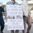 "Stock Photo: ""Marciper lvita"" in Mondragone, Italy. Protest of people"