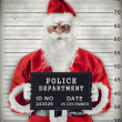 Stock Photo: SantClaus Mugshot
