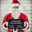 Santa Claus Mugshot — Stock Photo #33808163