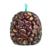 Sack of chestnuts — Foto Stock