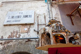 "NAPLES, ITALY, OCTOBER 19: ""San Gregorio Armeno"" street of nativ — Stockfoto"