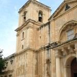 St. John's Cathedral in Valletta, Malta — Stock Photo