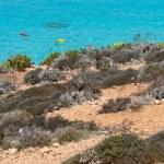 蓝色礁湖 — 图库照片