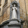 Stock Photo: Saint statue, Vallettstreets, Malta