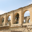 Arches Upper BarrakkGardens in Valletta, Malta — Stock Photo #34847017