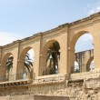 Arches Upper Barrakka Gardens in Valletta, Malta — Stock Photo #34847017