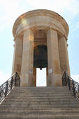Siege bell memorial in Valletta, Malta. — Stock Photo