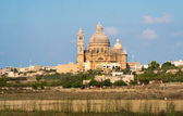 The National Shrine of the Blessed Virgin of Ta' Pinu — Stock Photo