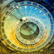 Orloj astronomical clock in Prague in Czech Republic — Foto Stock