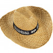 Straw hat that says Mallorca — Stock Photo